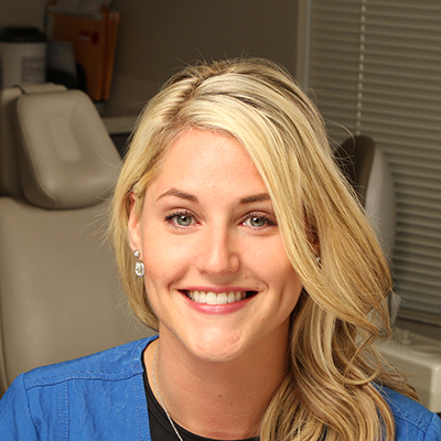 Jessica headshot dental assistant at Clayton Dental Group