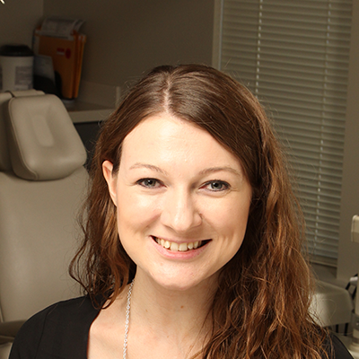 Kirstin headshot schdeuling coordinator at Clayton Dental Group