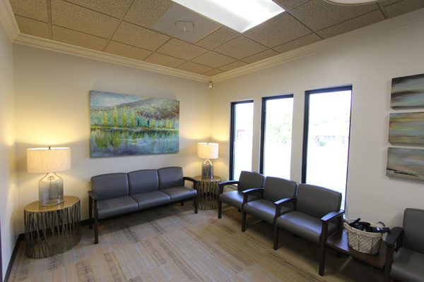 Clayton Dental Group Waiting area